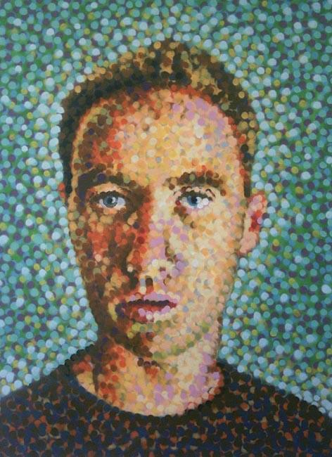 aerosol pointillism 2004